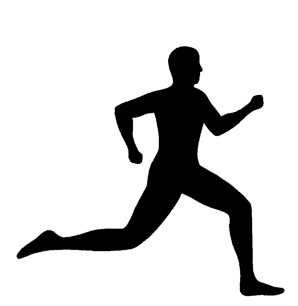 15 Running Silhouette Free Cliparts That You Can Download To You