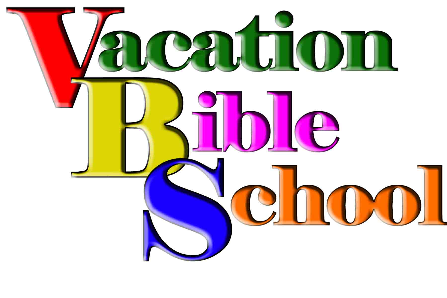 Vacation Bible School Clip Art Free