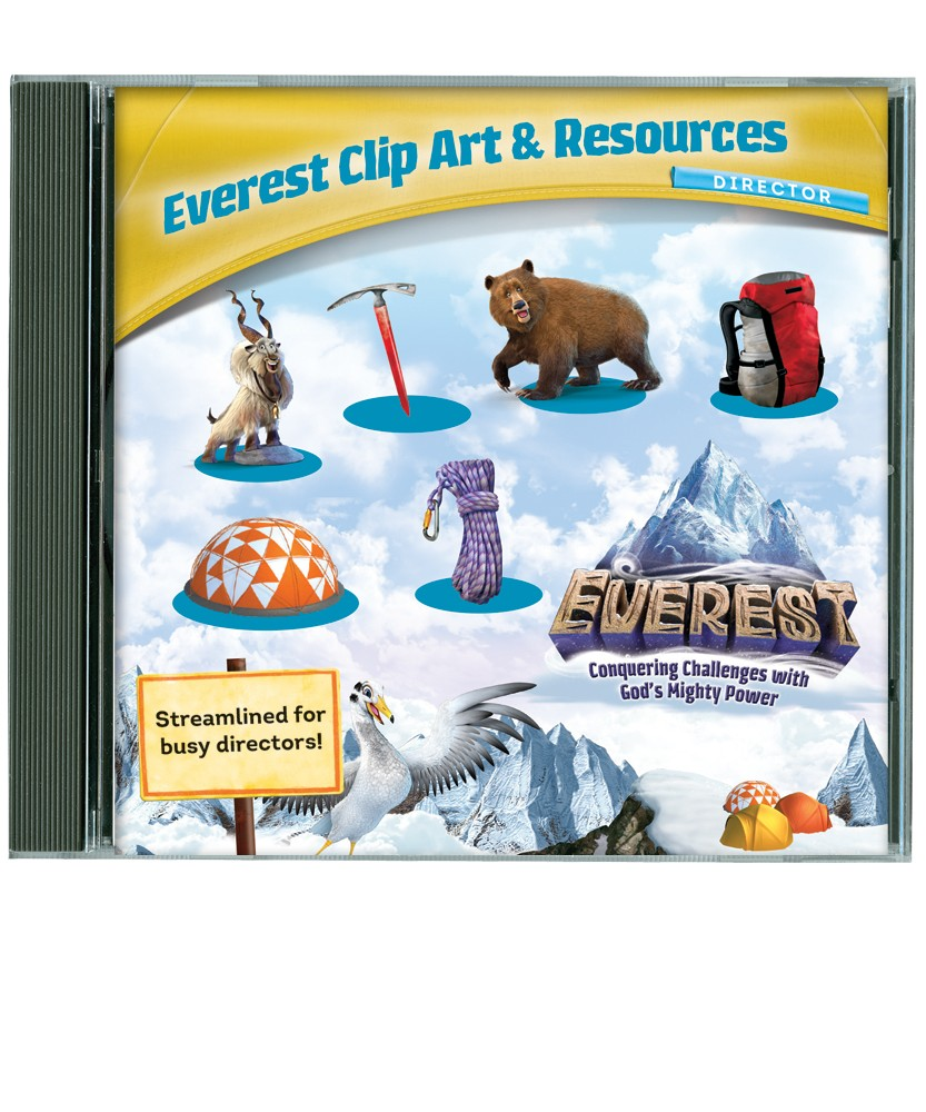 Everest Vbs 2015 Clip Art   Resources Cd