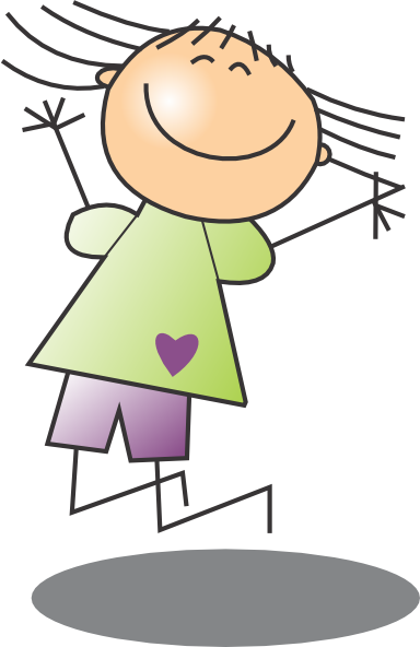 Jumping Up Clipart - Clipart Kid