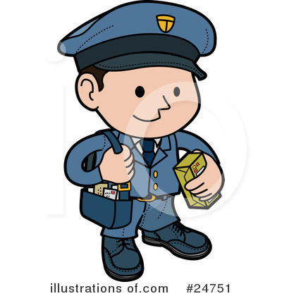Clip Art Mailman Clipart mailman clipart kid 24751 illustration by geo images