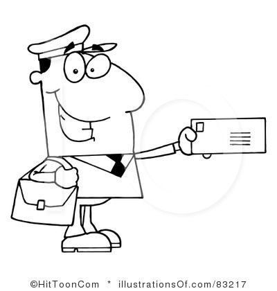 Mailman Clipart   Item 1   Vector Magz   Free Download Vector