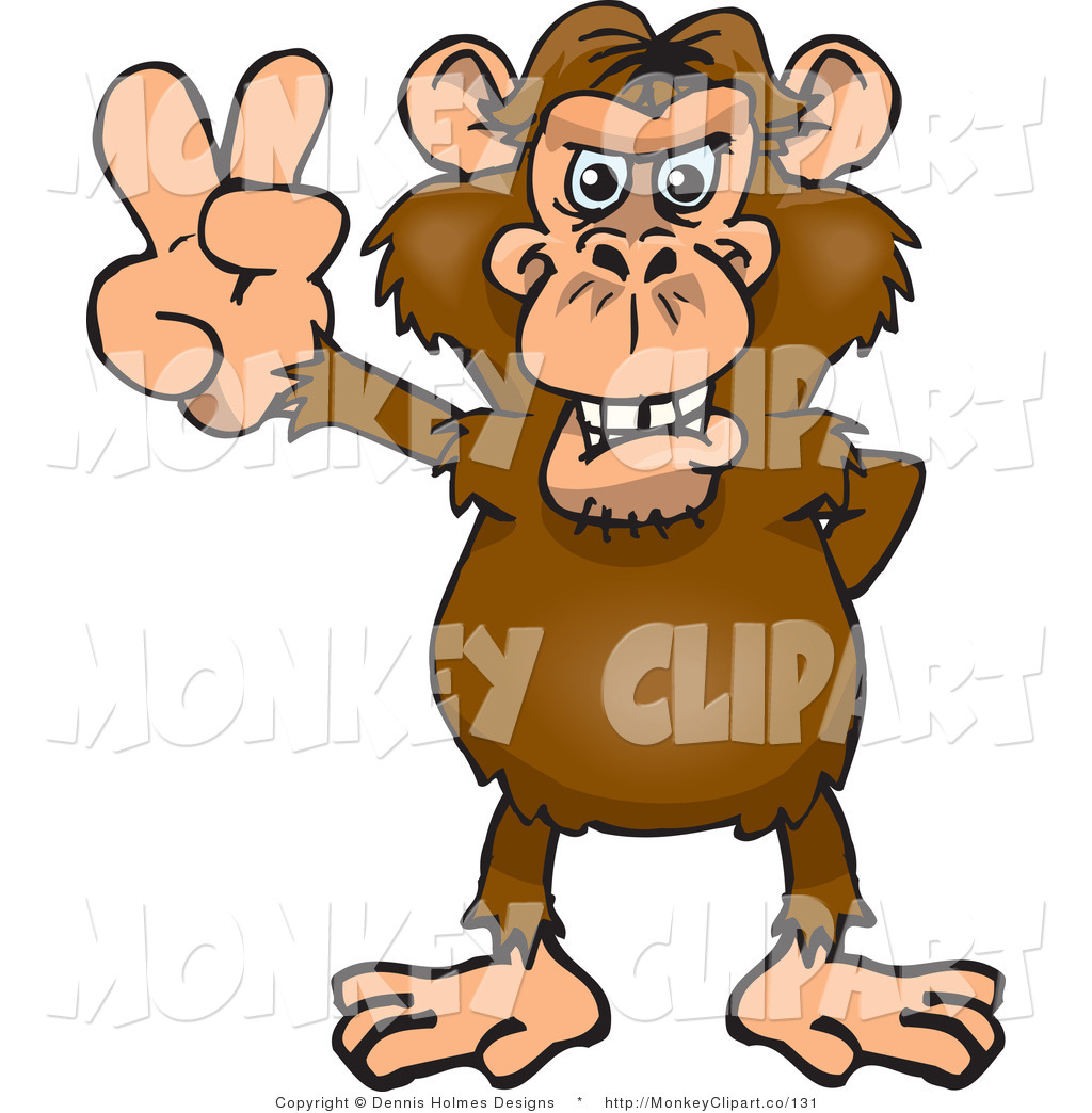 Monkey Clipart   New Stock Monkey Designs By Some Of The Best Online