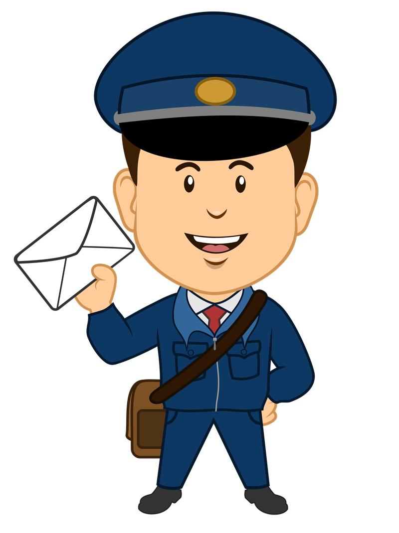 Postman Clipart   Clipart Panda   Free Clipart Images