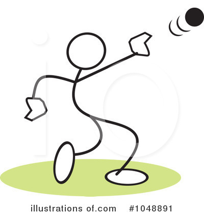 Shot Put Clipart Royalty Free  Rf  Shot Put