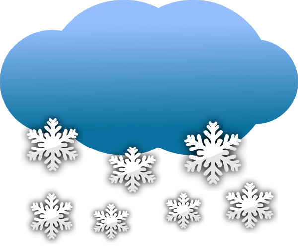Snow Clouds Clip Art At Clker Com   Vector Clip Art Online Royalty