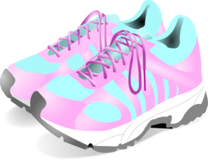Gym Shoes Clipart - Clipart Kid