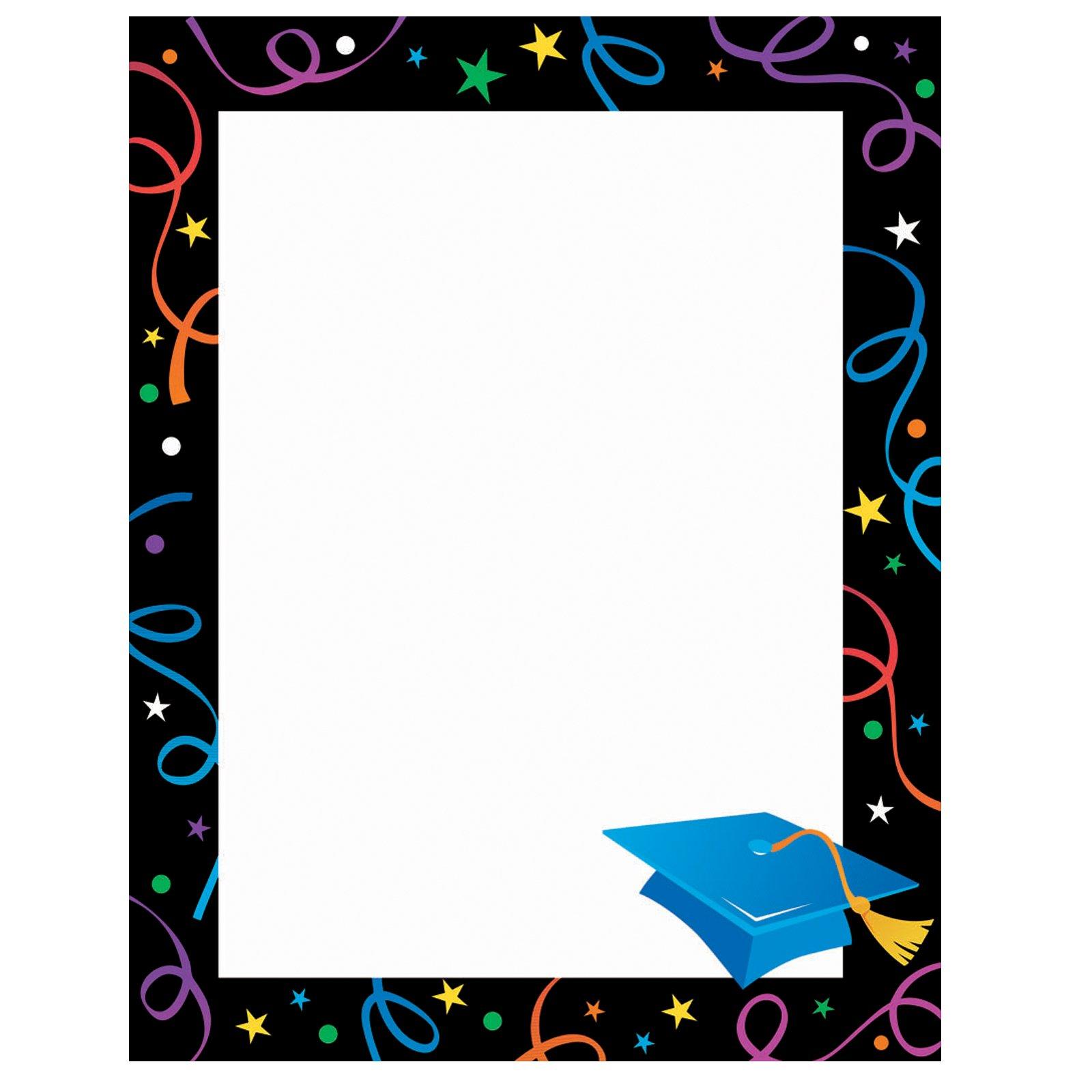 Graduation Decorative Border Clipart - Clipart Kid