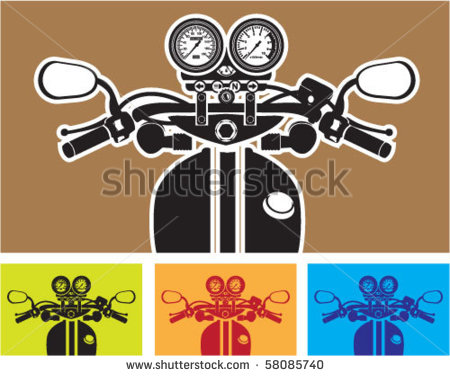 Motorcycle Handlebars Stock Photos Images   Pictures   Shutterstock
