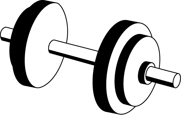 Dumbbell Clipart - Clipart Suggest