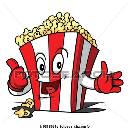 Pop Corn Clipart - Clipart Kid