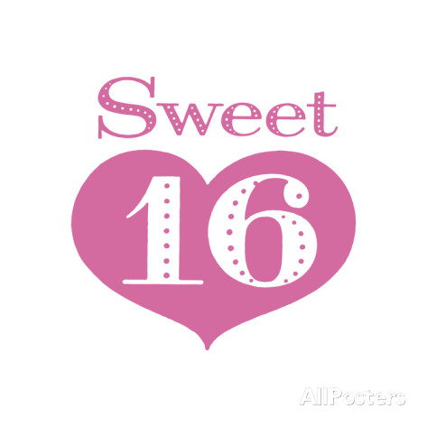 Sweet 16 Clipart