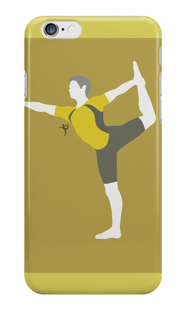 Wii Fit Trainer    Yellow  Iphone Cases   Skins By Himejj