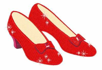 Wizard Of Oz Ruby Slippers Clipart   Clipart Best