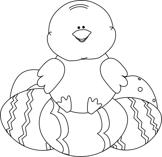 Black And White Easter Clipart - Clipart Kid