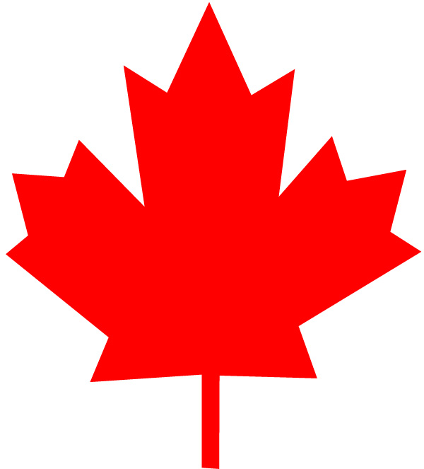 Canadian Maple Leaf Logo   Clipart Best