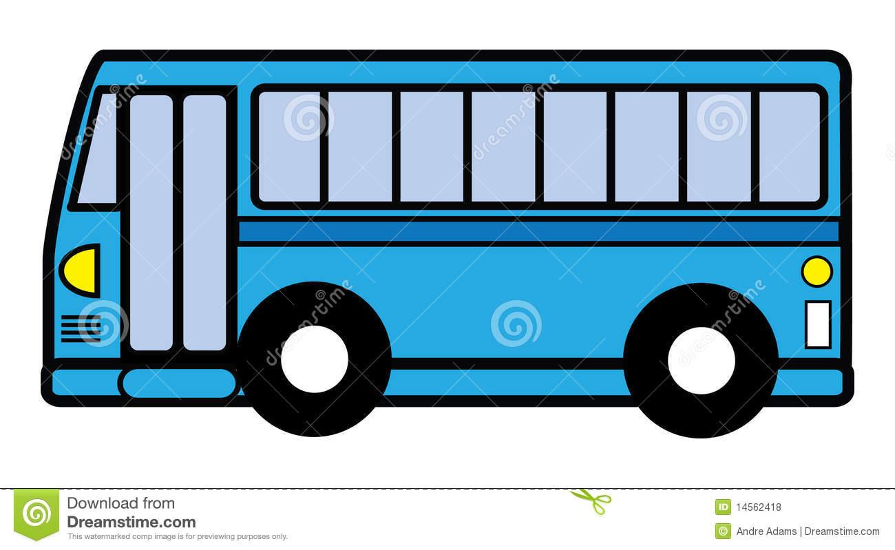 Blue bus clipart clipart suggest for Clipart bus