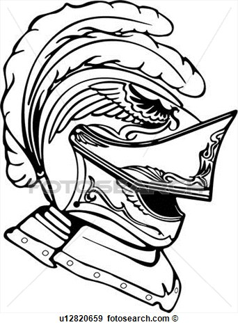 Knight Helmet Clipart - Clipart Suggest
