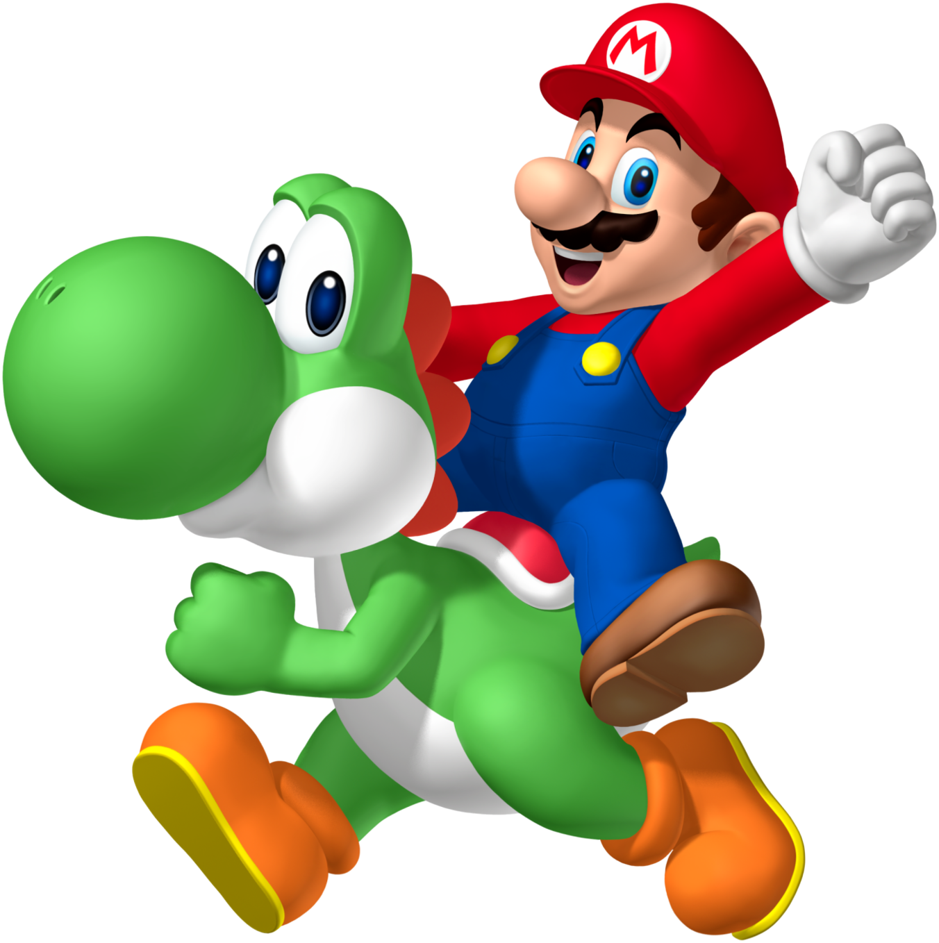 Image   Mario Riding Yoshi Png   Fantendo The Video Game Fanon Wiki
