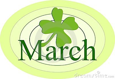 March Clip Art March Royalty Free Stock Photo
