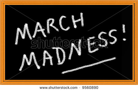 March Madness Written On Chalkboard Stock Photo 9560890   Shutterstock