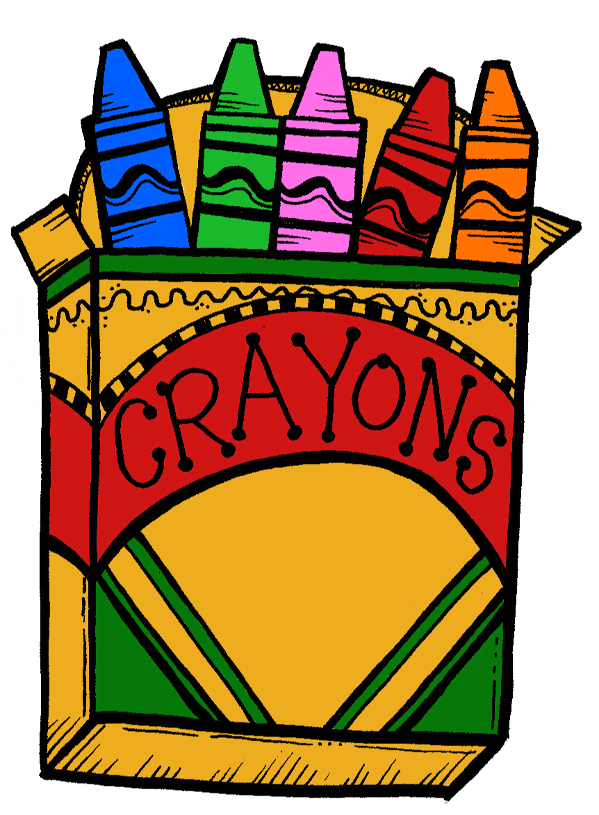 Pack Of Crayons Clipart - Clipart Kid