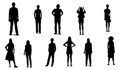 18 Silhouette Person Free Cliparts That You Can Download To You