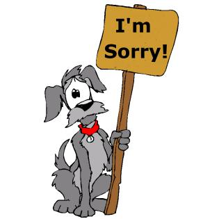 Clip Art Sorry Clipart sorry dog clipart kid book dreaming may 2011