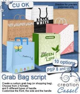 Grab Bag   Psp Script   Commercial Use Clipart To Buy   Pinterest