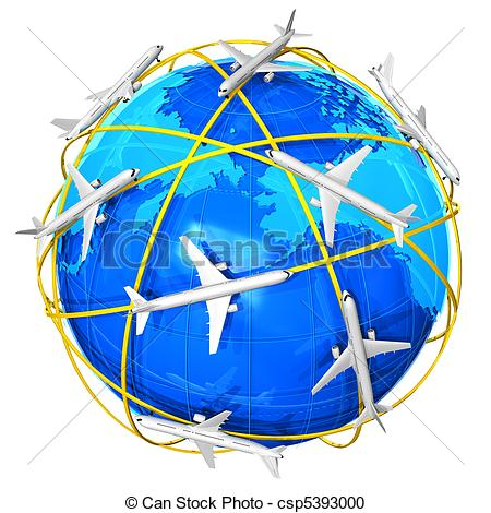 Of International Air Travel Concept Csp5393000   Search Clipart