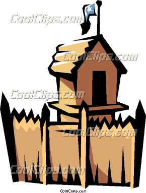 Old Fort Vector Clip Art   Clipart Panda   Free Clipart Images
