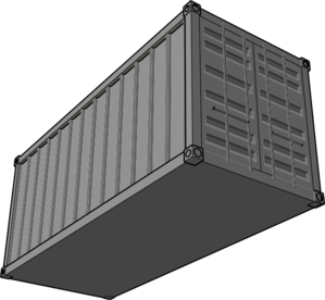 Shipping Container Cartoon Http   Www Clker Com Clipart Shipping