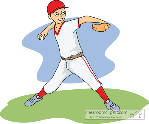 Throwing A Baseball Clipart - Clipart Suggest