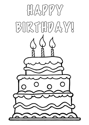 Birthday Candles Black And White Clipart - Clipart Suggest