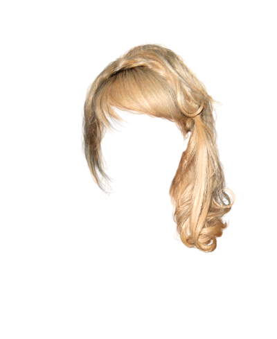 Blonde Wig Boufont Clipart   Cliparthut   Free Clipart