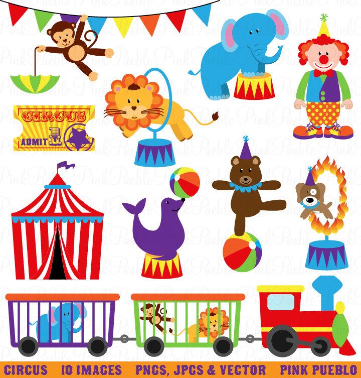 Circus Carnival Clip Art