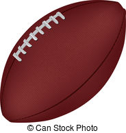 Football   An Image Of An American Football