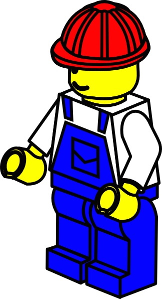 Little Lego Man Clip Art At Clker Com   Vector Clip Art Online