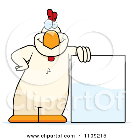 Royalty Free  Rf  Clipart Illustration Of A Stressed Orange Chicken