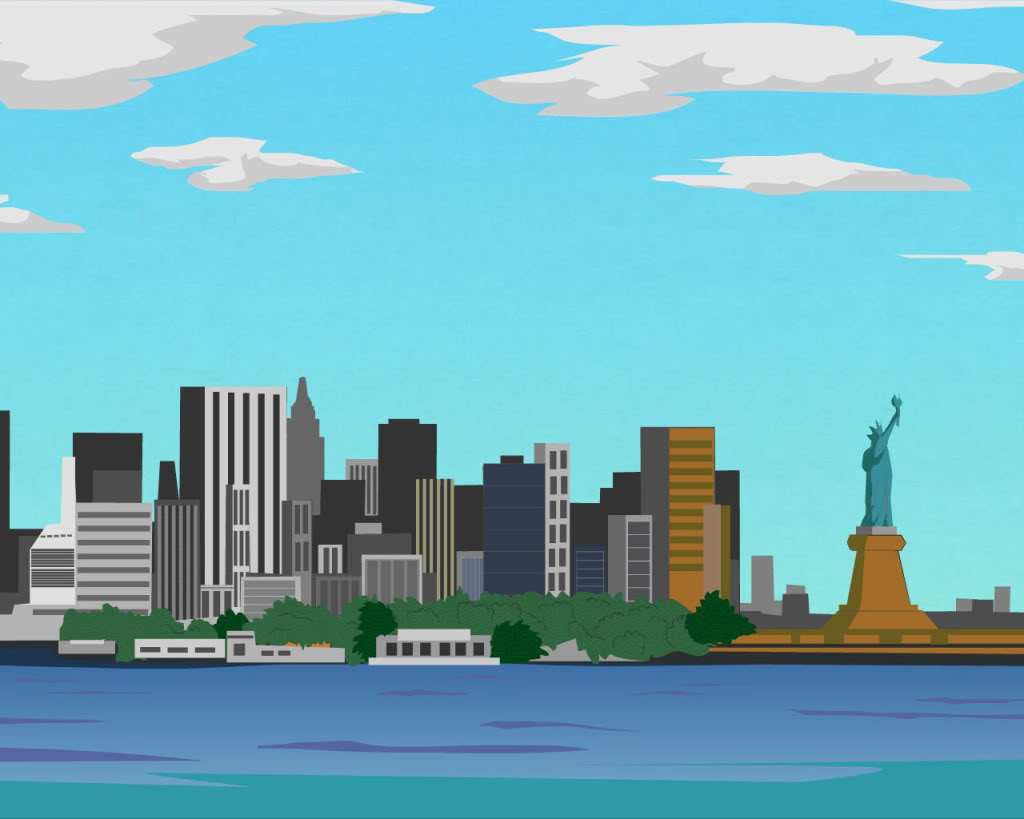 Viewing Gallery For   City Skyline Clipart