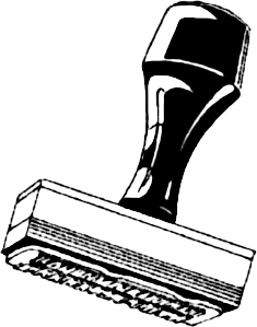 Rubber Stamping Clip Art