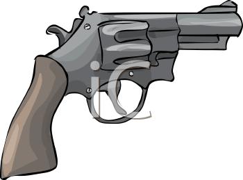 Hand Gun Clipart - Clipart Kid
