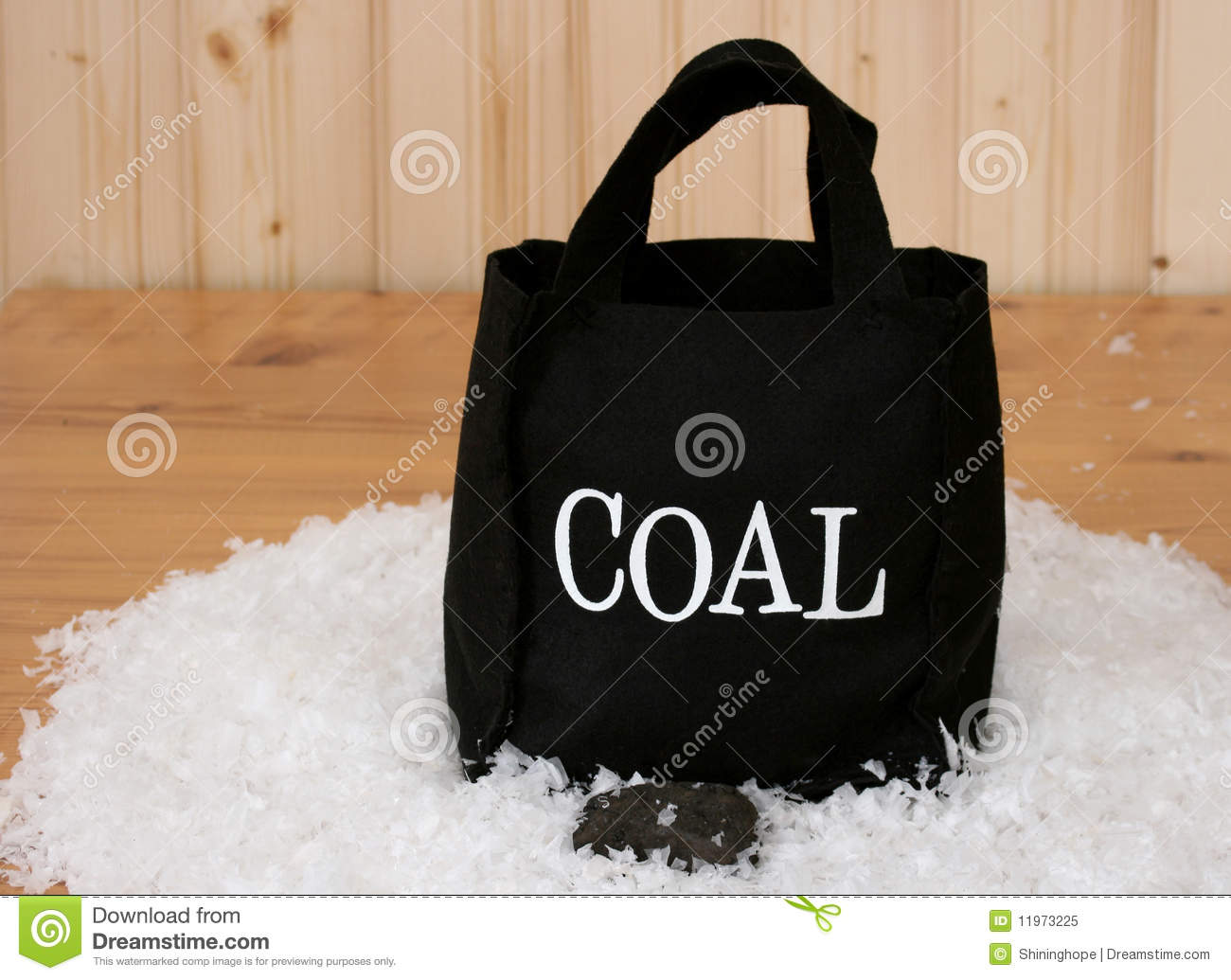 Bag Of Coal Royalty Free Stock Photo   Image  11973225