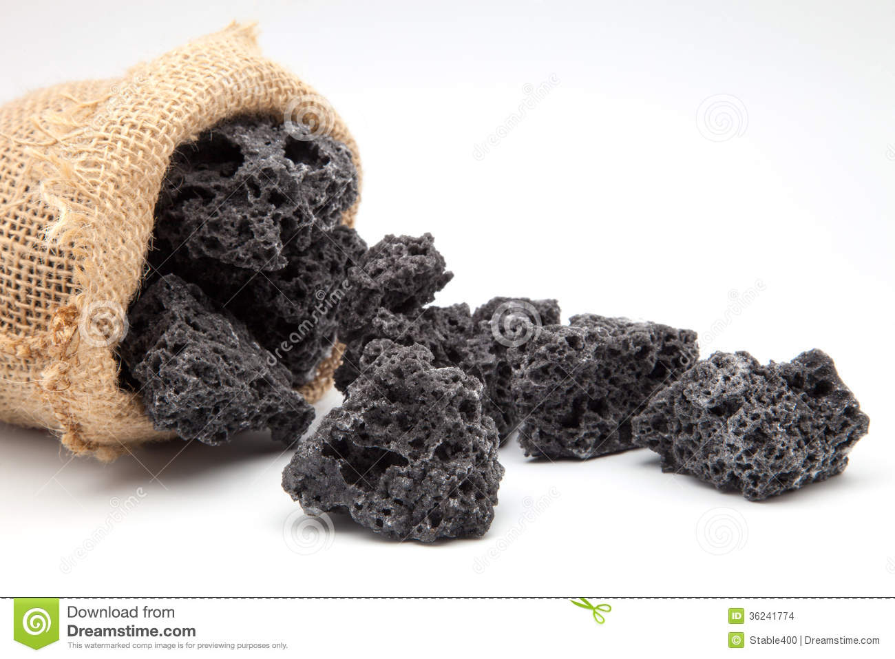 Bag Of Coal Stock Images   Image  36241774