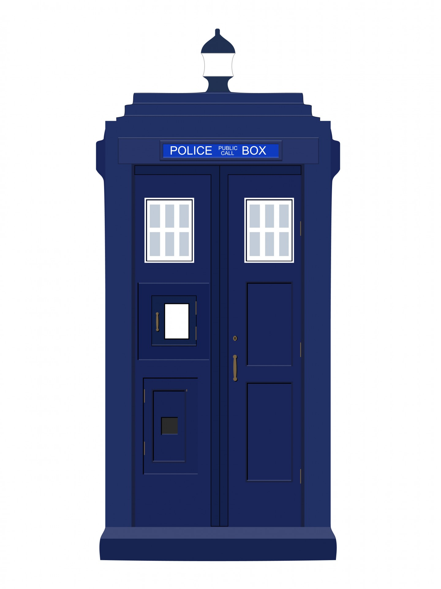 Blue Police Box Clipart Free Stock Photo Hd   Public Domain Pictures
