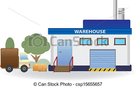 Clipart Vector Of Warehouse Vector For You Design Csp15655657   Search