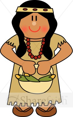 Native American Thanksgiving Clipart - Clipart Suggest