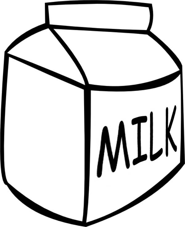 Milk Box Clipart - Clipart Suggest