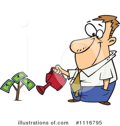 Finance Clipart  1116795   Illustration By Ron Leishman