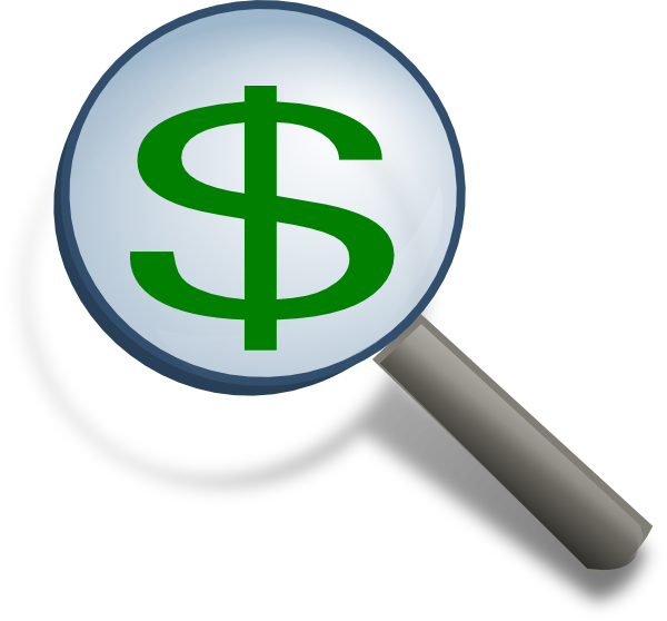 Church Finances: Financial Report Clipart